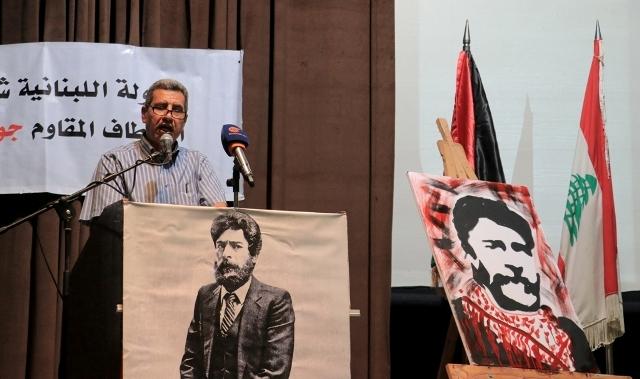 لقاء تضامني مع المناضل جورج عبدالله في مركز معروف سعد الثقافي في الذكرى 35 لاعتقاله