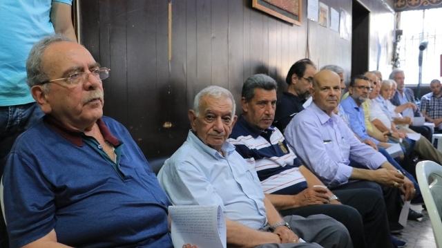 لجنة المتابعة المنبثقة عن اللقاء السياسي الشعبي اللبناني الفلسطيني تقر الوثيقة الشعبية لحقوق الفلسطينيين، وتدعو إلى تظاهرة جماهيرية