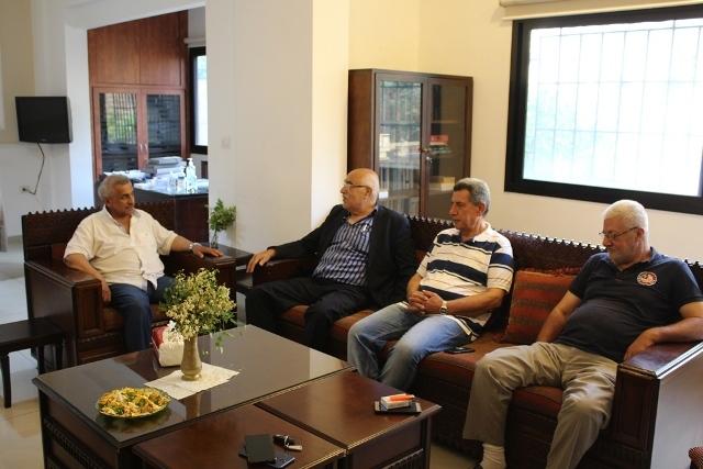 وفد من الجبهة الشعبية لتحرير فلسطين يزور الدكتور أسامة سعد: لإسقاط صفقة القرن التصفوية وجريمة ضم الضفة الغربية
