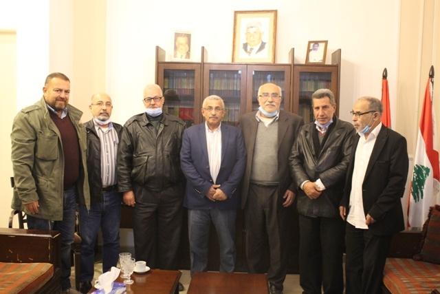الشعبية خلال زيارتها للنائب أسامة سعد في ذكرى انطلاقتها تؤكد أهمية مواصلة النضال لإسقاط كل المؤامرات التي تستهدف القضية الفلسطينية