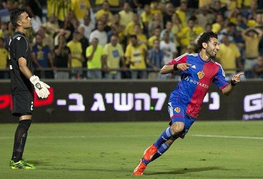 المصري صلاح يقود بازل إلى الدور الحاسم المؤهل إلى دوري أبطال أوروبا