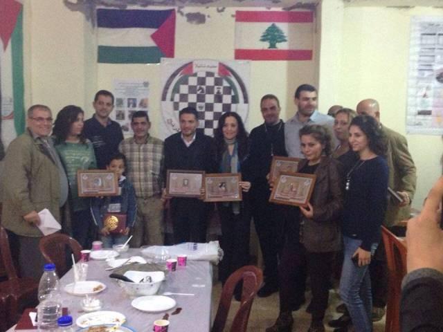الملتقى الفلسطيني للشطرنج يقيم حفل تكريم