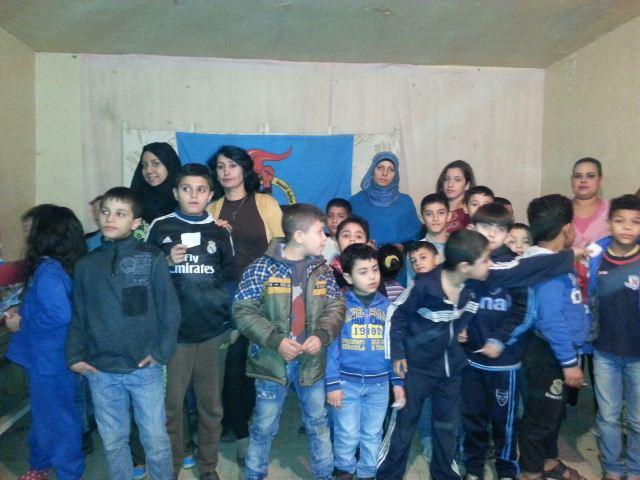الشبيبة الفلسطينية أقامت حفلاً للأطفال في شاتيلا