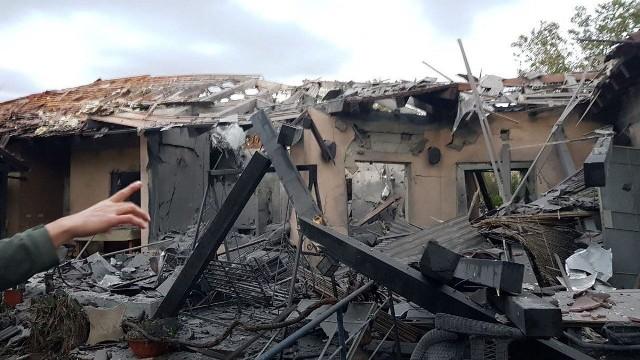 اصابات في سقوط صاروخ على منزل شمالي