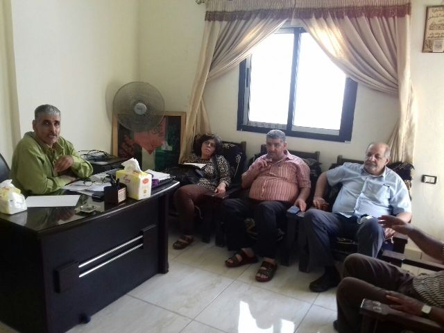 اجتماع للجنة التوأمة في مخيم نهر البارد مع بلدية متري- موري الفرنسية.