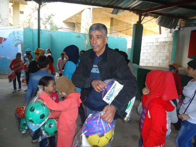 إحياء يوم الطفل العالمي في مخيم برج البراجنة