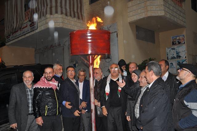 مهرجان جماهيري في وادي الزينة لمناسبة ذكرى انطلاقة الجبهة الشعبية