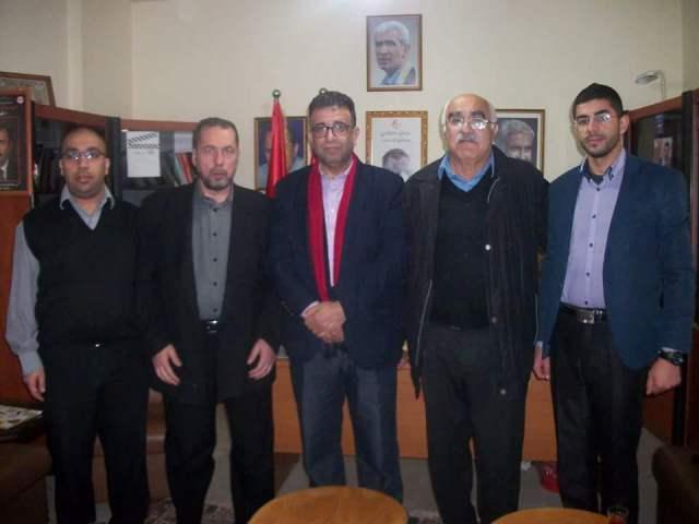 الشعبية في لبنان استقبلت وفد الحملة الدولية للأسرى