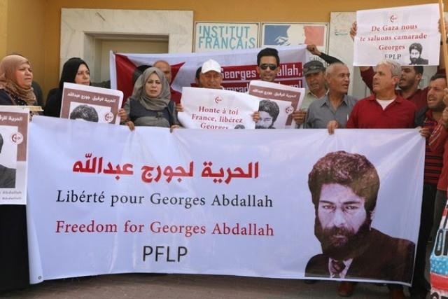 الشعبية: على السلطات الفرنسية إطلاق سراح جورج عبدالله فورًا
