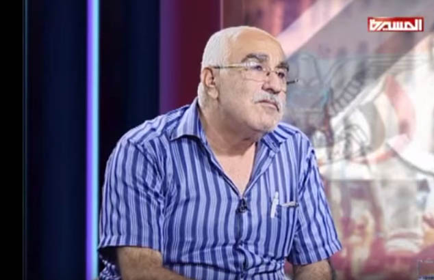 لقاء مع الرفيق أبوجابر على فضائية المسيرة