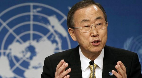 بان كي مون يناشد المانحين الدوليين لتقديم 100 مليون دولار إلى «أونروا»