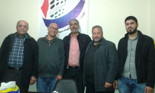 اللجان الشعبية تلتقي لجنة المتابعة الهندسية في الشمال
