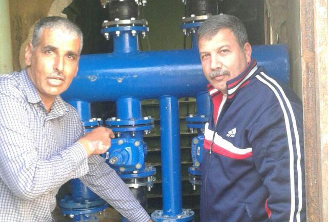 الـUNDP تقوم بإصلاح محطة مياه في مخيم نه رالبارد