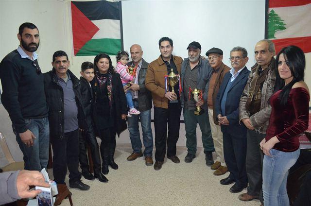 الملتقى الفلسطيني للشطرنج أحيا الذكرى السنوية الأولى لرحيل الممثل الفلسطيني محمود سعيد