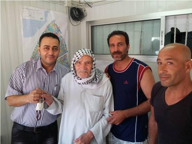 الاونروا تسلم وحدات سكنية جديدة في مخيم نهر البارد للاجئين الفلسطينين