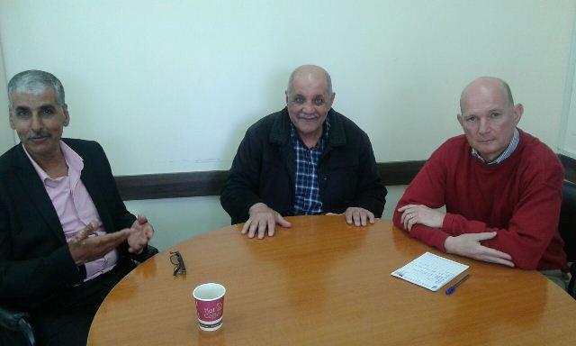 اللجان الشعبية تلتقي مدير مشروع اعادة اعمار مخيم نهرالبارد