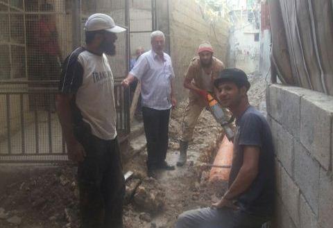 اللجنة الشعبية في عين الحلوة جالت على مشروع البنية التحتية