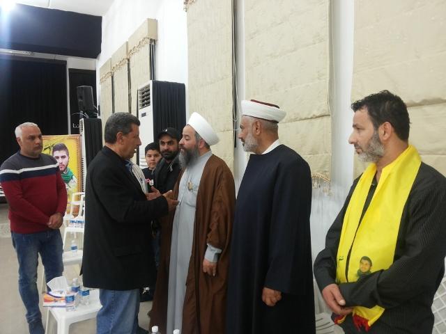 الجبهة الشعبية في صيدا قدمت التعزية باستشهاد محمد خضر الكبش