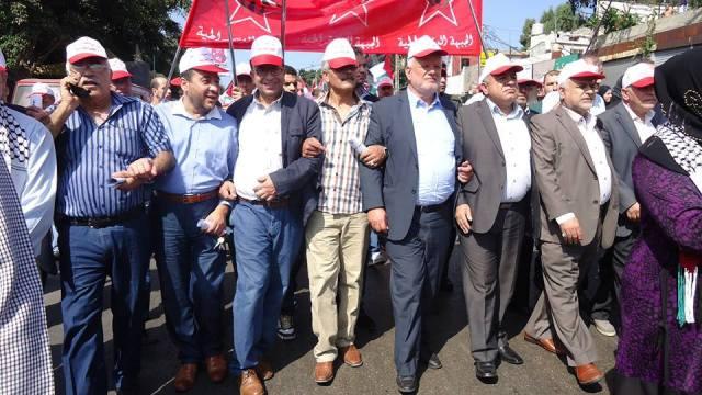 مهرجان سياسي ومسيرة حاشدة في ذكرى مجزرة صبرا وشاتيلا