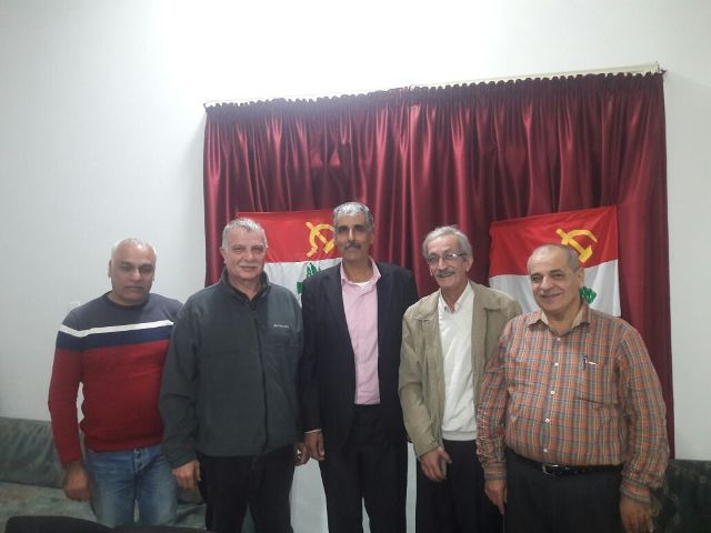 الجبهة الشعبية لتحرير فلسطين تلتقي الحزب الشيوعي اللبناني في الشمال