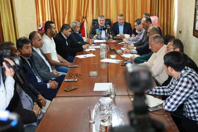 بيان صادر عن الهيئة الوطنية العليا لمسيرة العودة وكسر الحصار