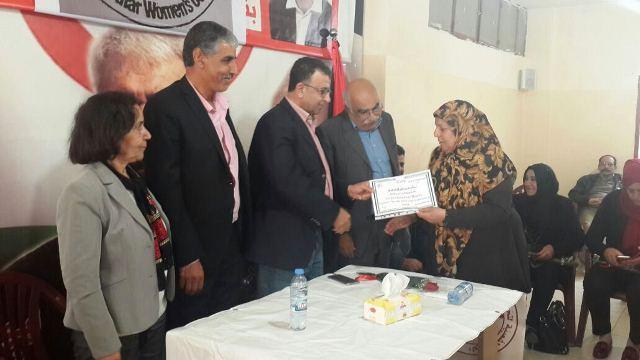 الجبهة الشعبية لتحرير فلسطين تكرم لجان المرأة الشعبية في لبنان