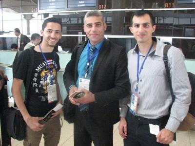 اللاعب الفلسطيني عدوان يضمن الحصول على برونزية على الأقل ببطولة آسيا