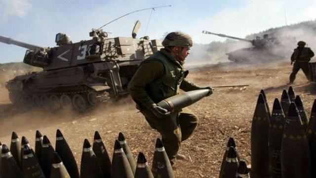 الاحتلال يستهدف منطقة الناقورة بجنوب لبنان بقذائف مدفعية