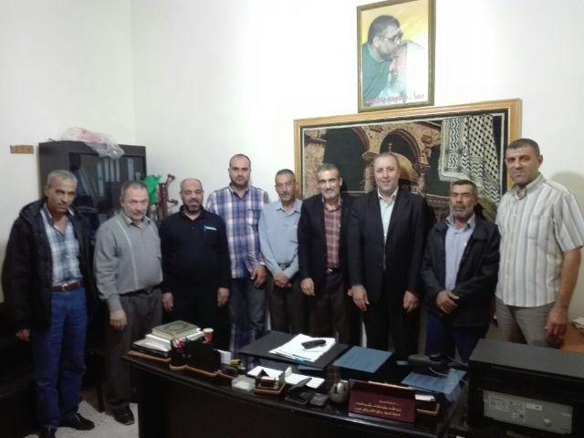 الجبهة الشعبية تلتقي قيادة حركة حماس في صور