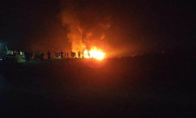 الصليب الأحمر اللبناني: مقتل 20 شخصًا بانفجار صهريج وقود شمال لبنان