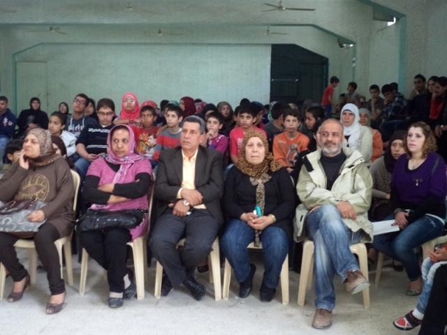 لجان المرأة الشعبية الفلسطينية في مخيم عين الحلوة تحتفي بذكرى يوم الأرض