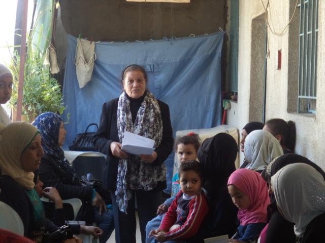 ندوة سياسية للجان المرأة الفلسطينية في عين الحلوة