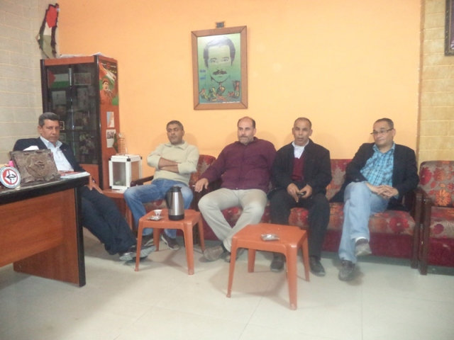 وفد المبادرة الشعبية في عين الحلوة زار مكتب الجبهة الشعبية