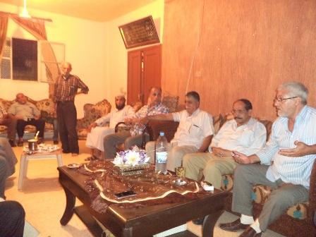 الجبهة الشعبية لتحرير فلسطين تلتقي  مع عشيرة غوير ابو شوشة