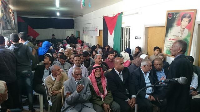 احياء ذكرى الأرض بمخيم خان الشيح للاجئين الفلسطينيين في سوريا