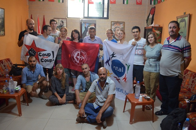 جمعيتان بلجيكية وفرنسية في زيارة لمخيم عين الحلوة