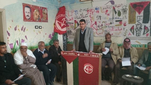 وقفة تضامنية مع الأسرى الفلسطينيين في مخيم خان الشيح – سوريا