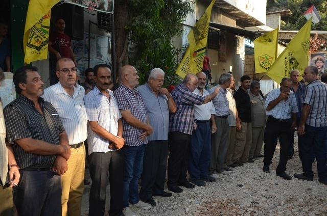 اعتصام في مخيم عين الحلوة تضامناً مع الأسرى في سجون الاحتلال
