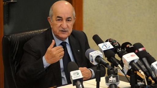 رسالة من الشعبية إلى الرئيس الجزائري لموقفه من التطبيع الذي يُعبّر عن ضمير الشعب العربي من المحيط إلى الخليج