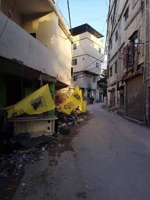 بالصور هل سيتأخر مشروع إعادة ترميم وبناء ما تهدم في مخيم المية ومية؟