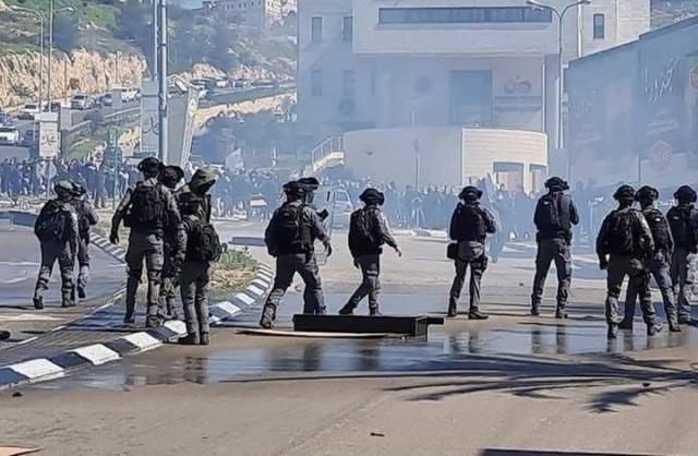 الشعبية تحيي جماهير شعبنا في مدينة أم الفحم وتدعو لتعزيز وتوسيع الحراك الشعبي ضد الاحتلال