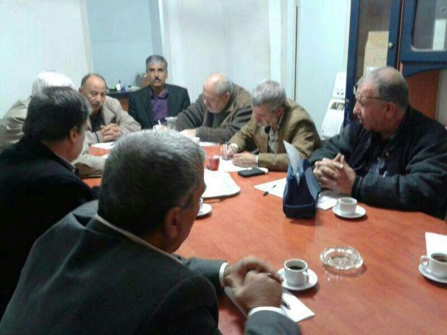 اجتماع للجنة المتابعة المركزية للجان الشعبية الفلسطينية في لبنان