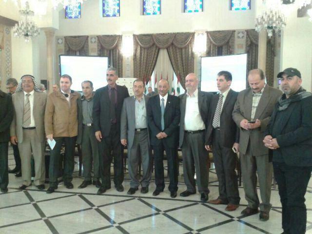 لجنة الحوار اللبناني الفلسطيني كرّمت اللجان الشعبية الفلسطينية