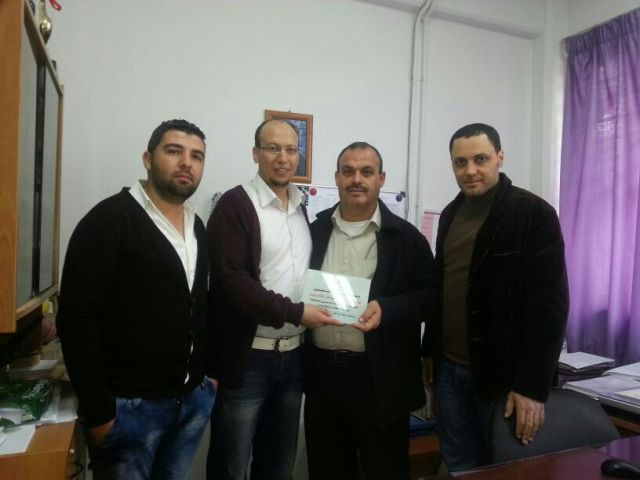 منظمة المعلمين الفلسطينين هنأت المعلمين في عيد المعلم