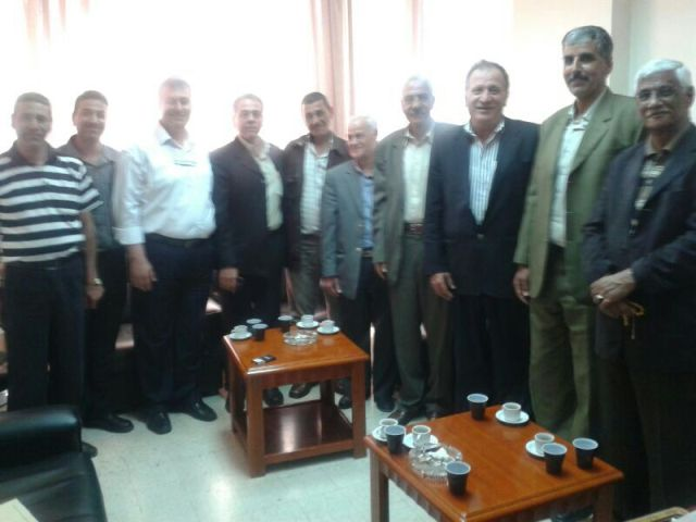 اللجان الشعبية زارت جمعية الهلال الأحمر الفلسطيني