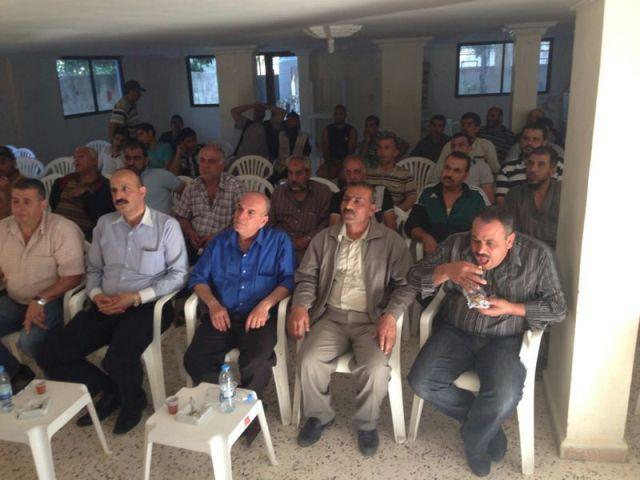 نهر البارد: اتحاد العاملين في الأنروا في الشمال يقيم حفل تأبين