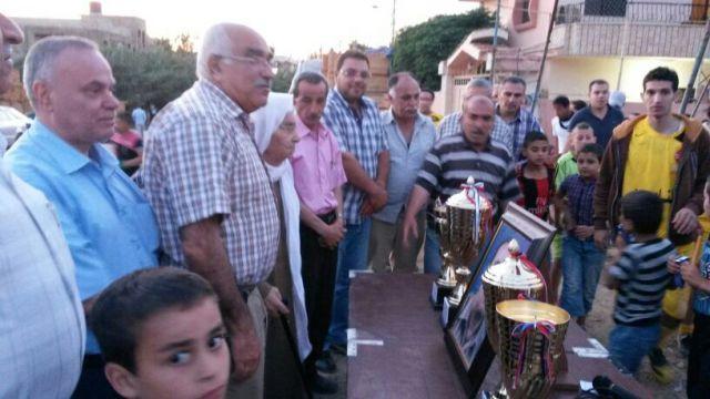 نادي الناصرة نهر البارد يحيي ذكرى مؤسسه الراحل صالح سليم الخليل
