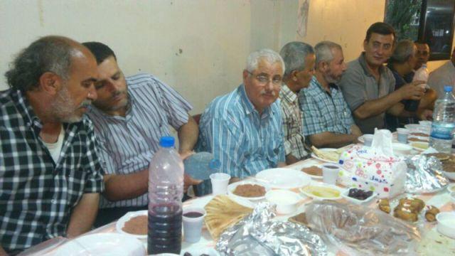 حركة فتح في نهر البارد تقيم حفل إفطارلأسر الشهداء