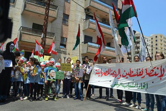 شباب طرابلس وأطفالها يتضامنون مع غزة وفلسطين