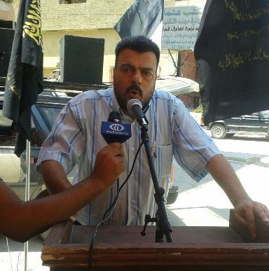 خيمة تضامن مع غزه ومقاومتها لحركة الجهاد الإسلامي في البارد